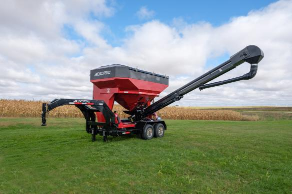 Now Available: Bulk Conveyor Style Travis Seed Carts
